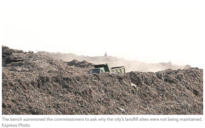 MCD and DDA fail to manage the landfill sites in the city